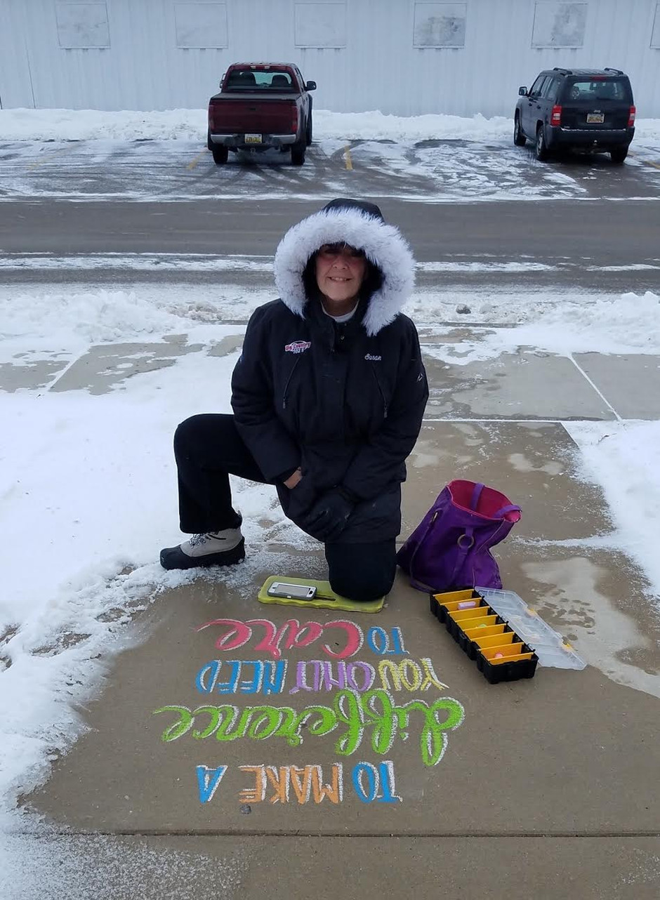 Service Spotlight: Sidewalk Chalk Project