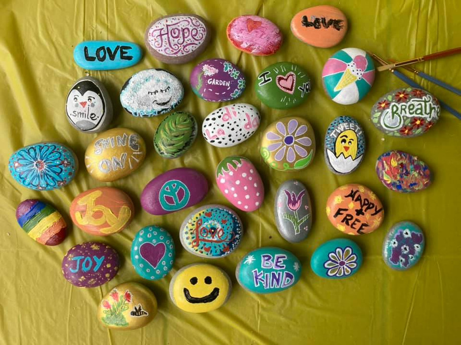 Service Guide: Rock Painting Project