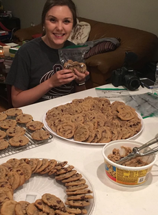 Bake and distribute cookies