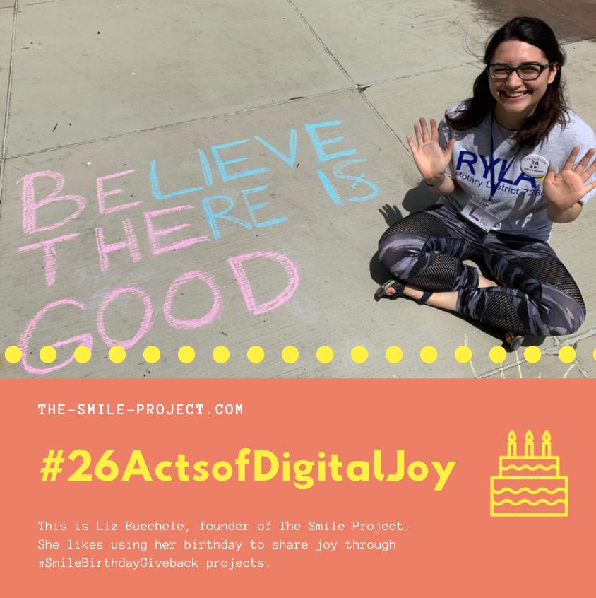 #26ActsofDigitalJoy