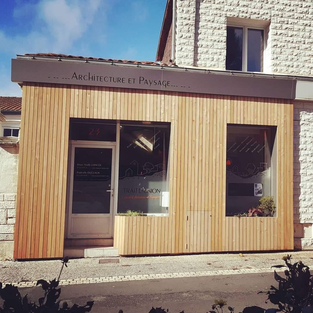 Bureaux Collectif Trait d'union architecture paysage Aytré, La Rochelle