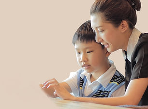 Tutor and student for IP/O-level Math Note