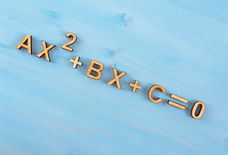 quadratic equation for IP/O-level Math Note