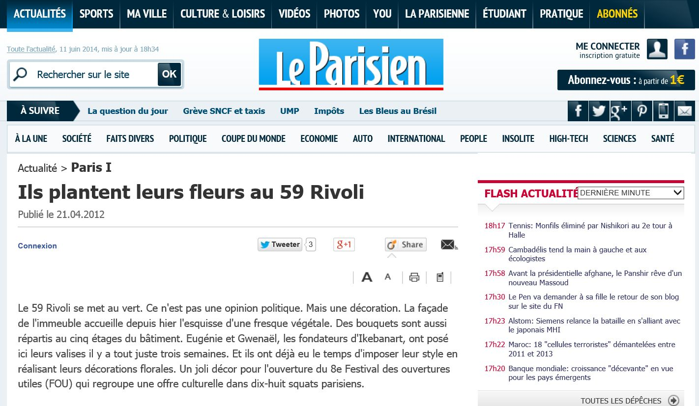 Capture le parisien