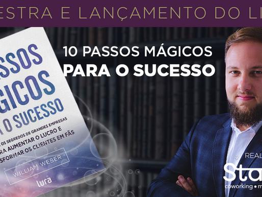 """""""10 passos mágicos para o sucesso"""" livro de William Weber"""