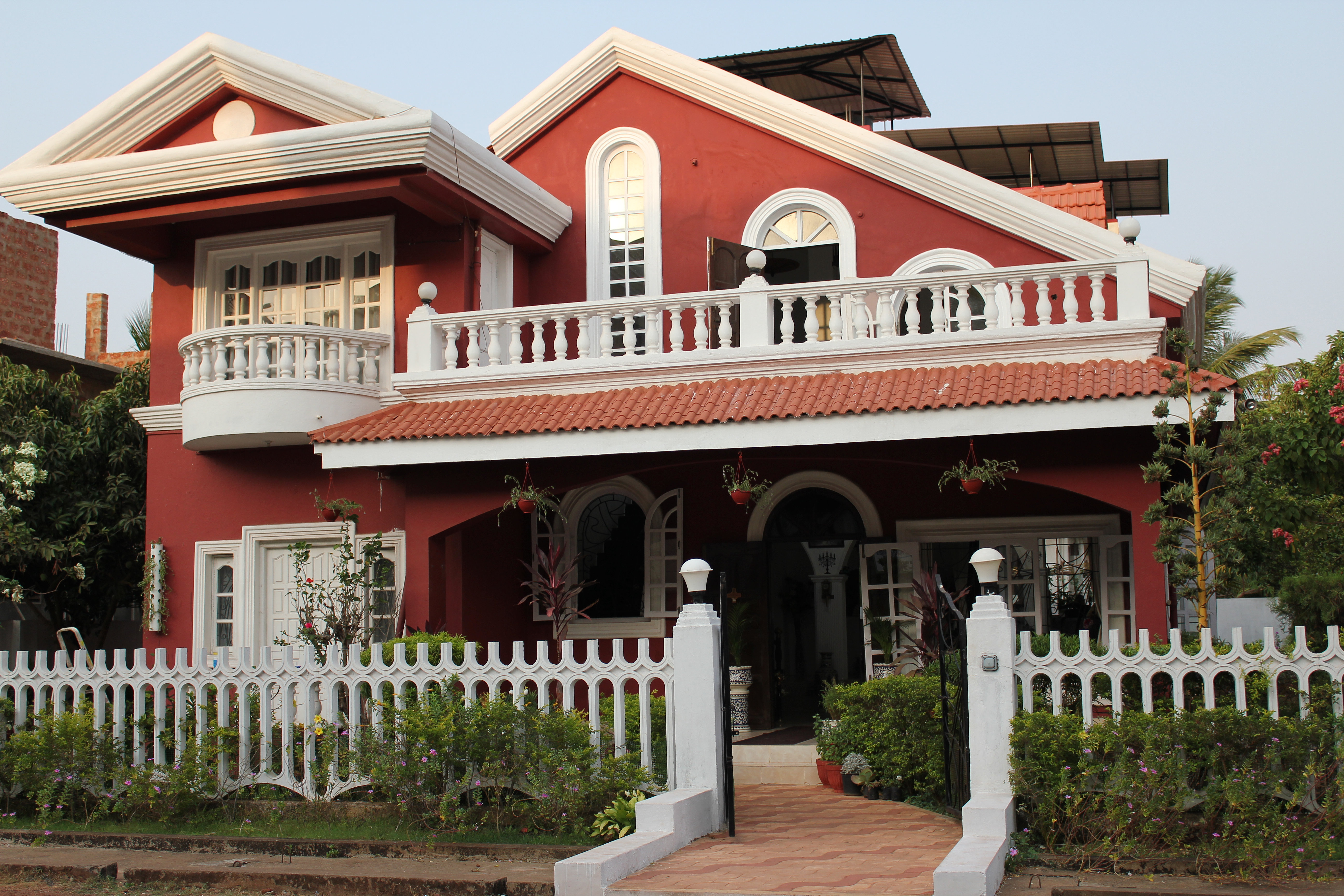 Guest House In Goa Budget Villa Guesthouses Near Calangute Goa North Guest House In Goa
