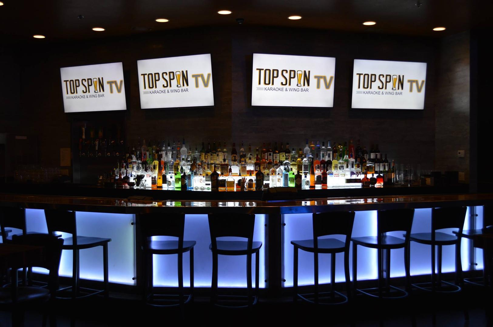 TopSpin Bartop & TVs