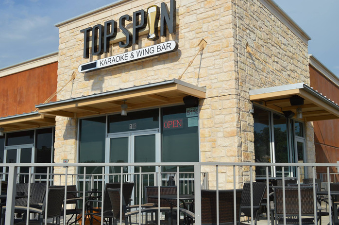 TopSpin Store Front