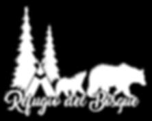 Logo _ BlancoSombra _ Refugio del Bosque