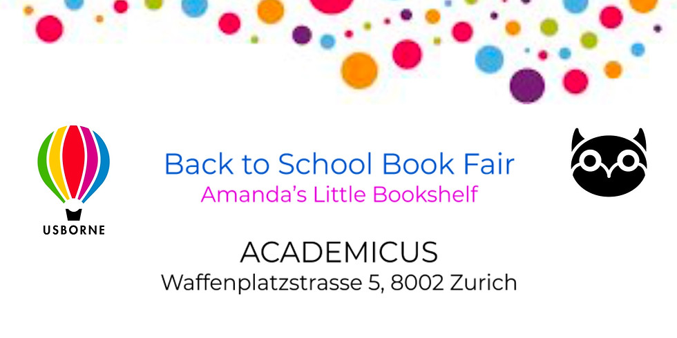 BACK TO SCHOOL BOOK SALE!