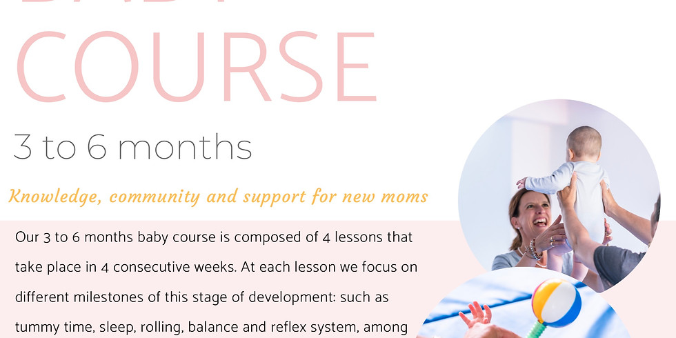 Baby Course 3-6months