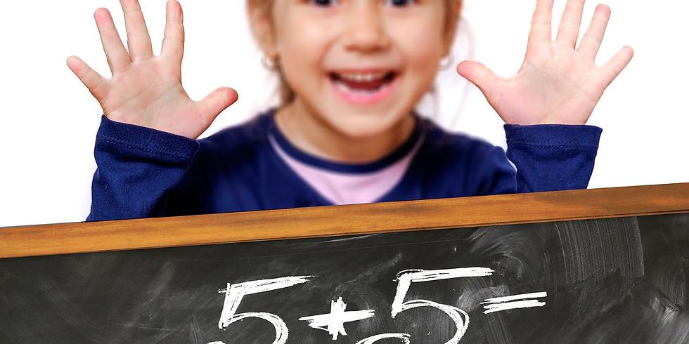 Mathletes = Maths + Athletes - Age:4-7 - every Wednesday @15:00-16:00
