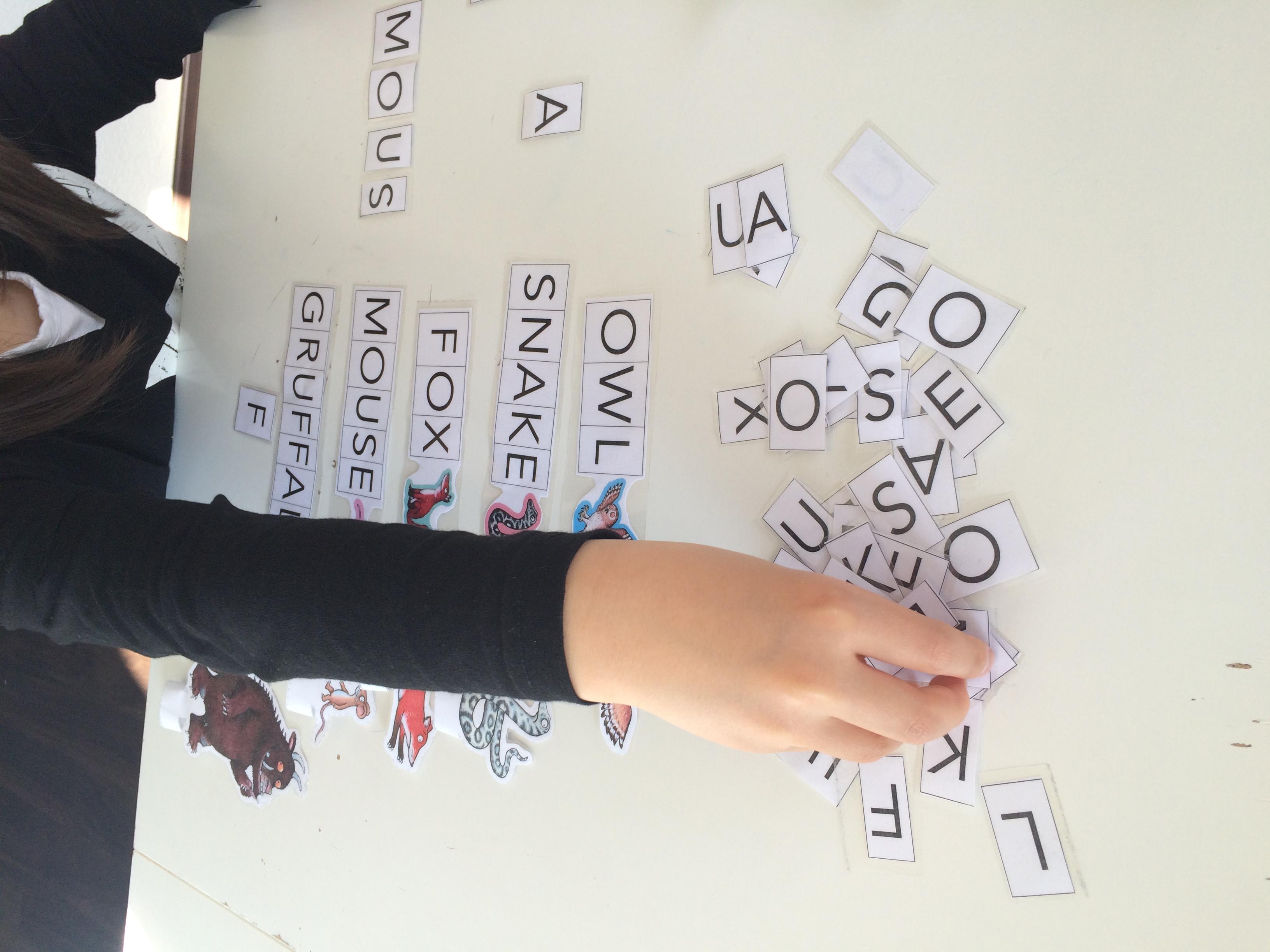 Gruffalo letters2
