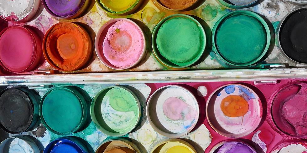 Crafty Kids - Age: 3-7 - every Wednesday @12:15-13:00
