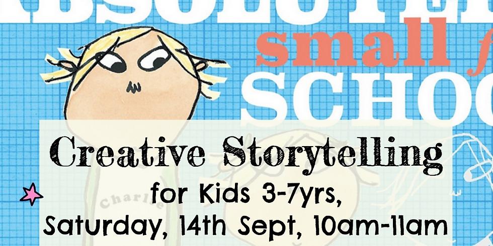 Zürich - Creative storytelling for kids 3-7yrs