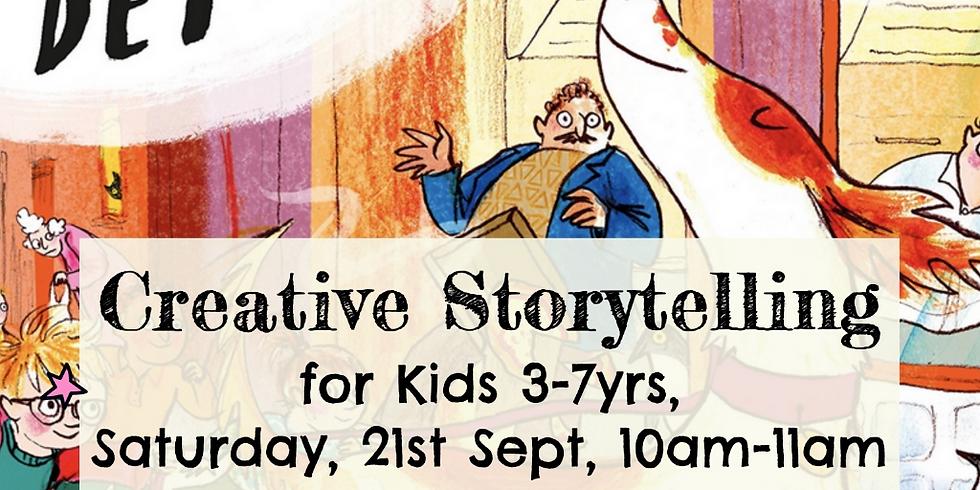 Zürich - Creative storytelling for kids 3-7yrs - Detective Dog