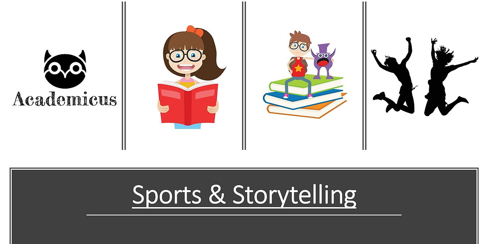 Storytelling, Songs & Sports  Online - every Tuesday &Thursday!