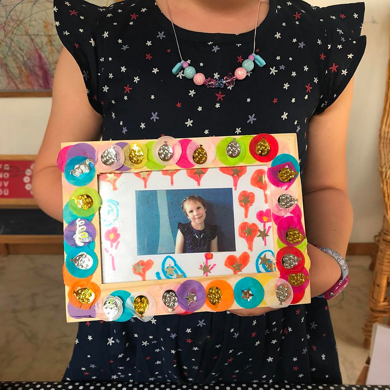 Guided Craft - Mothers Day Frames - Saturday