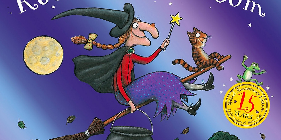 Zürich - Creative storytelling for kids 3-7yrs - Room on the Broom