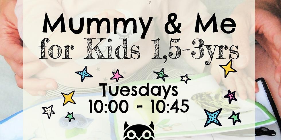 Mummy & Me Adventure Club - Toddlers & Pre-school Kids