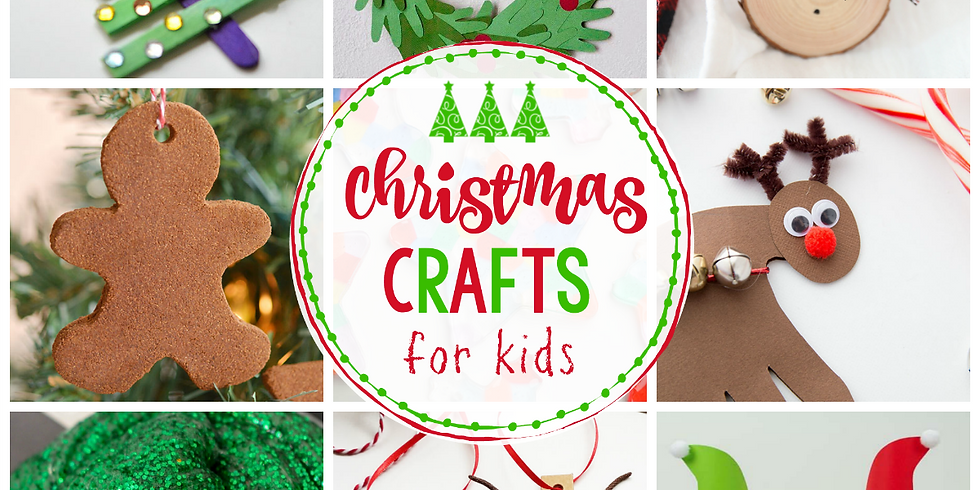 Christmas Crafts for Kids and Families - Photo Frames