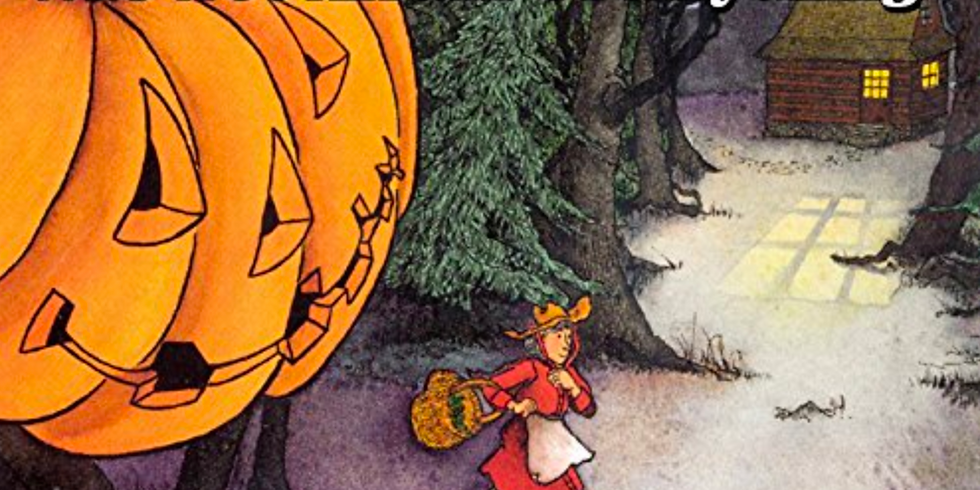 Zürich - Creative storytelling for kids 3-7yrs - The Lady Who Wasn't Afraid of Anything