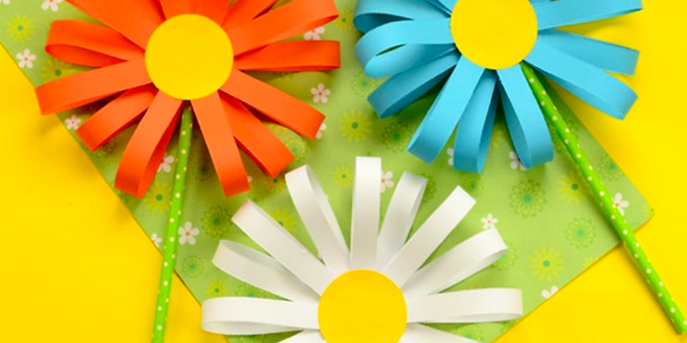 Guided Craft - 3D Flower FRIDAY