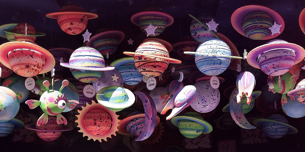 Half-Day Activities for Kids 3-7yrs - Solar System