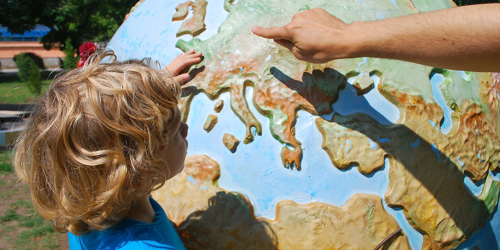 Half-Day Activities for Kids 3-7yrs - 3D Planet Earth