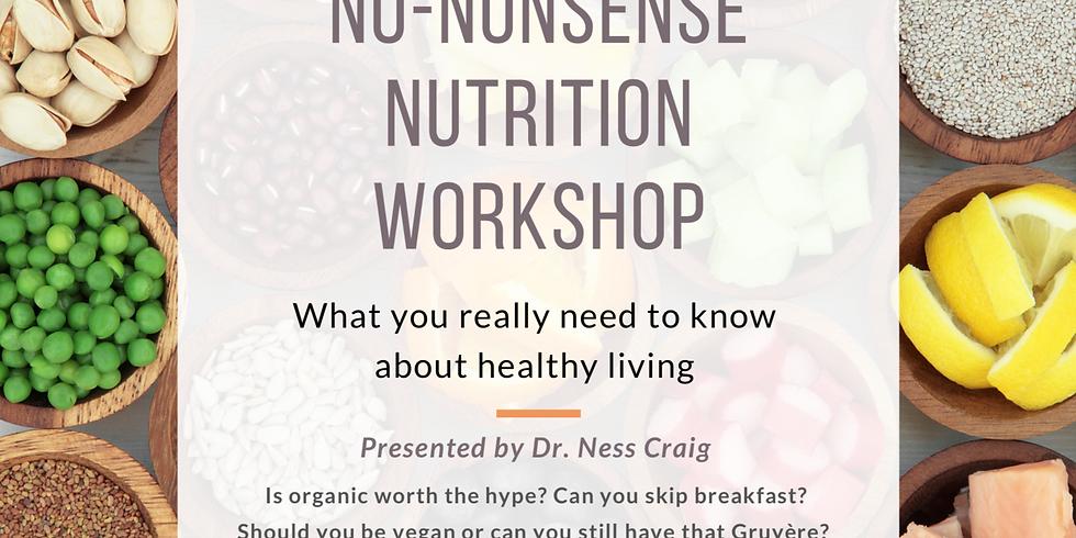 No Nonsense Nutrition Workshop