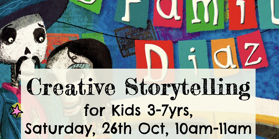 Zürich - Creative storytelling for kids 3-7yrs - The Dead Family Diaz