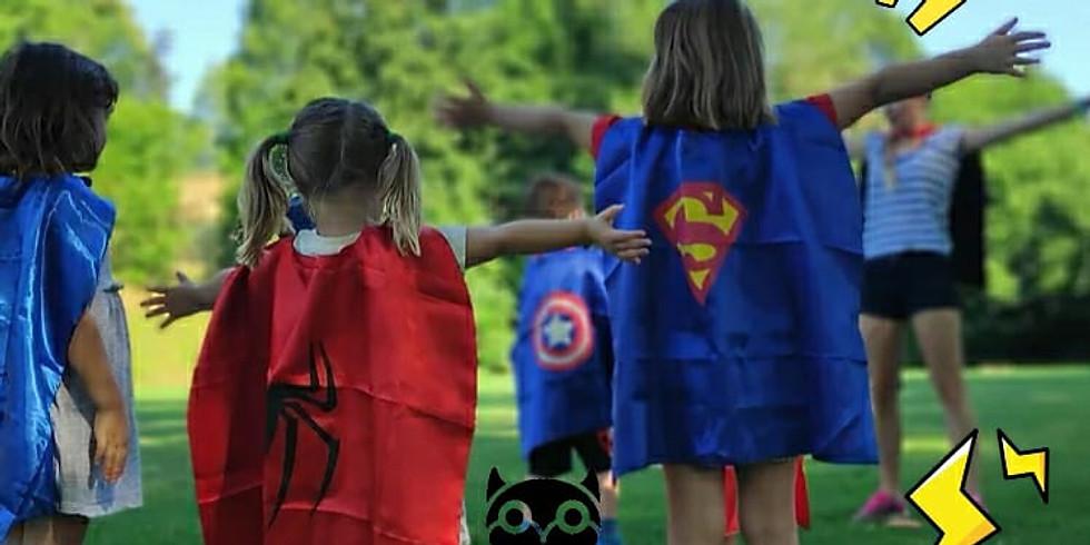 Superhero Aerobics - Age: 3-6 - every Wednesday @13:00-13:45