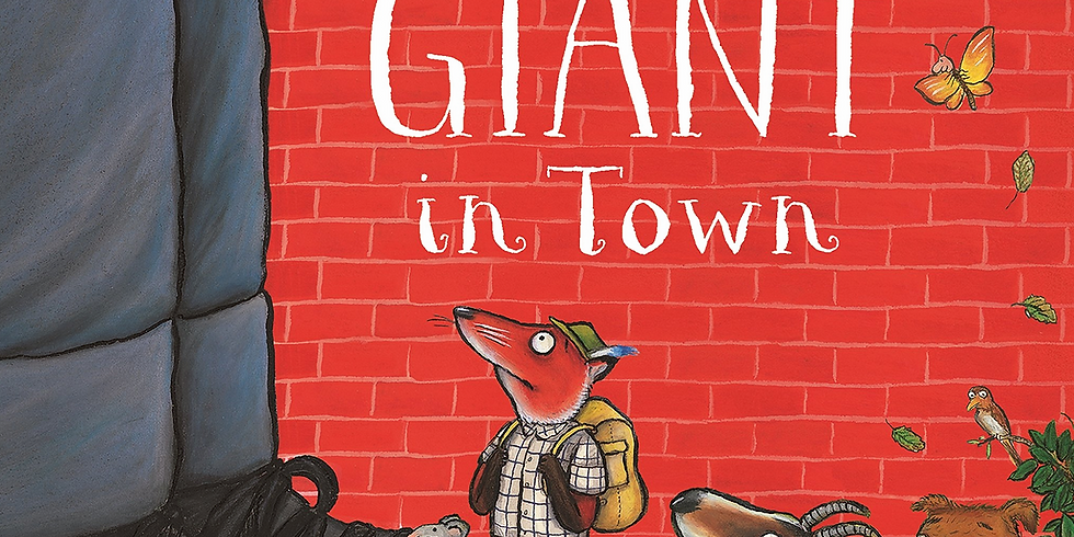 Zurich - Creative Storytelling for Kids 3-7yrs - The Smartest Giant in Town