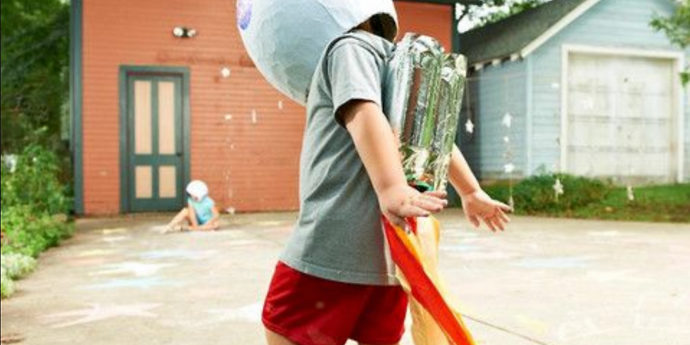 Half-Day Activities for Kids 3-7yrs - Space Travel