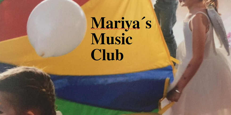 Mariya's Music Club  - kids 1,5-4yrs