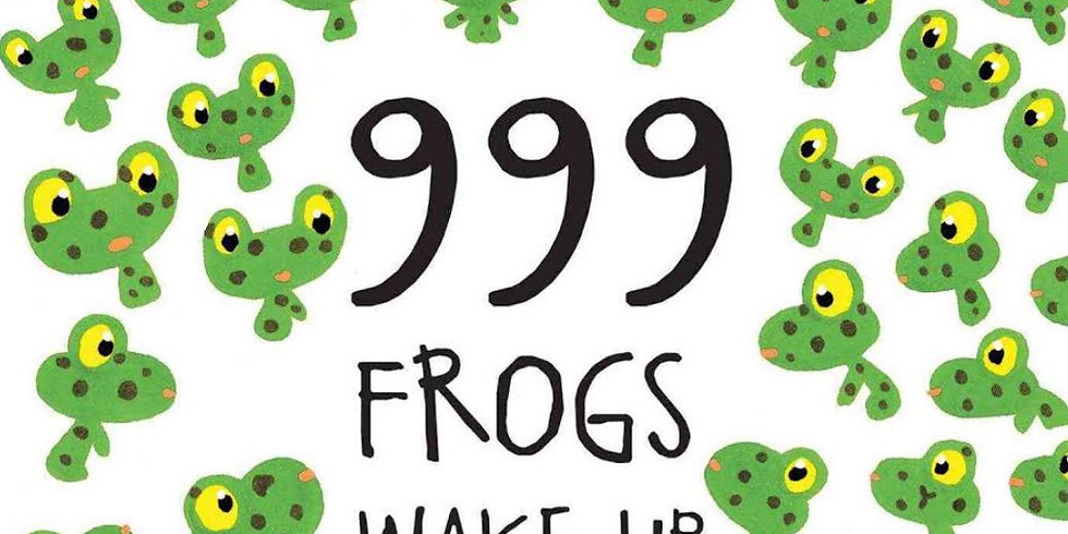 Creative Storytelling for Kids 3-7yrs - 999 Frogs Wake Up