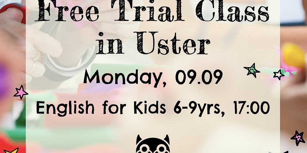 Free English Trial Class in Uster