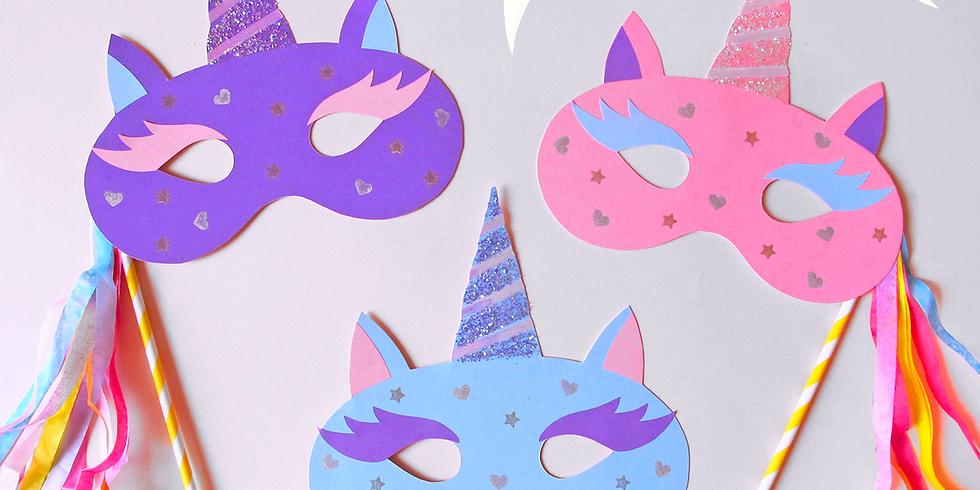 Guided Craft - Unicorn Masks - Friday