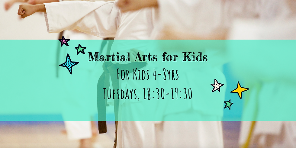 Martial Arts for Kids 4-8yrs