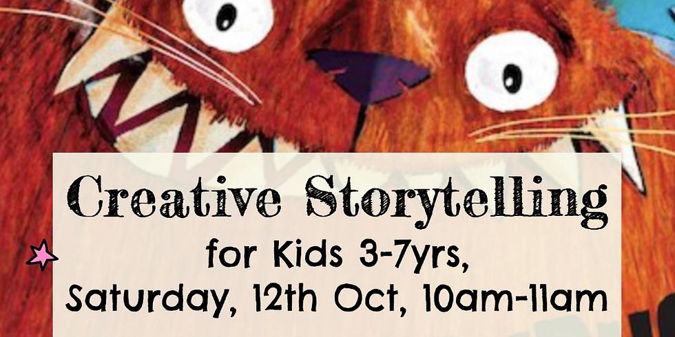 Zürich - Creative storytelling for kids 3-7yrs - Monstersaurus
