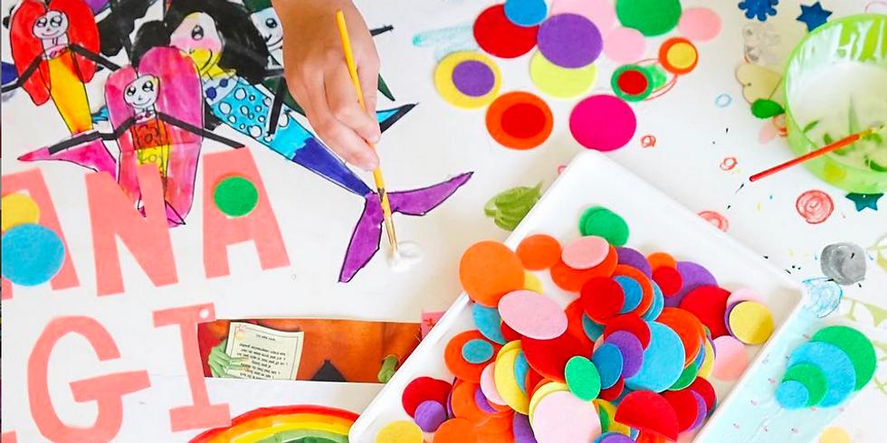 Zürich - Art Atelier - Process Art Workshops - Kids 5 - 12yrs
