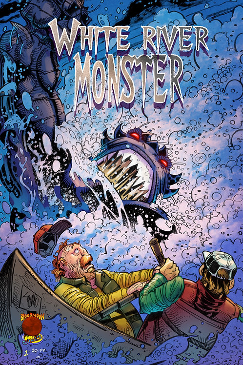 White River Monster issue 1 incentive cover B