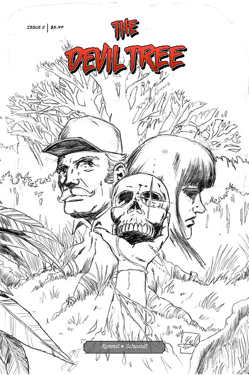 The Devil Tree Issue 2 - Cover B - Raw