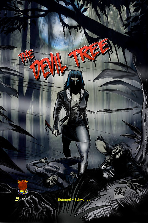 The Devil Tree issue 3 cover A