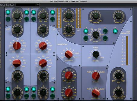 Acustica Audio Aqua : 21 plugins a confronto