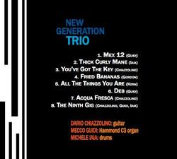 New Generation Trio - The Ninth Gig (bac