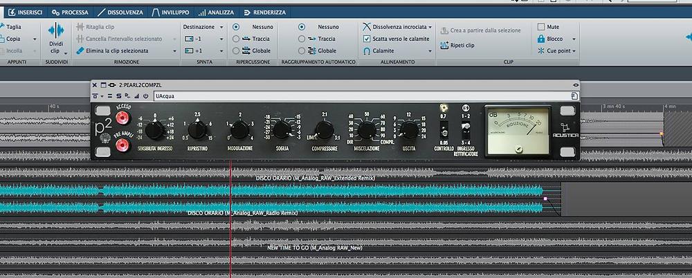 Compressore Acustica Audio Pearl2