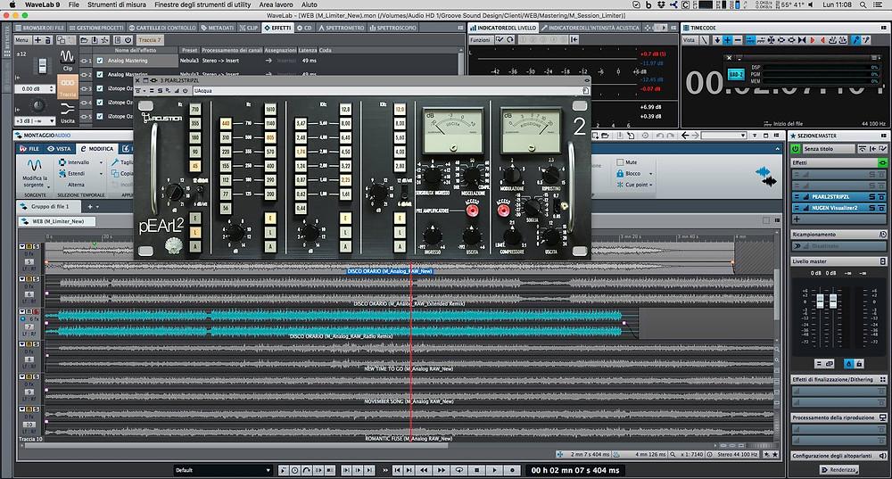 Channel Strip Acustica Audio Pearl2