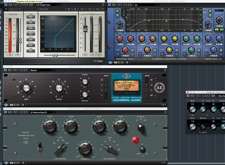 Le catene audio in mix. Gate, Compressore, EQ ed Effetti.
