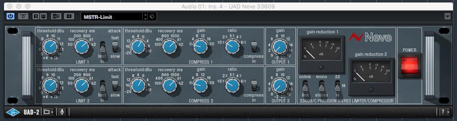 UAD Neve 33609
